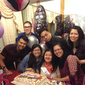 Family Birthday, March 2014
