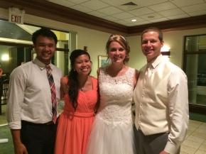Jo Ann and Jake's Wedding, July 2014