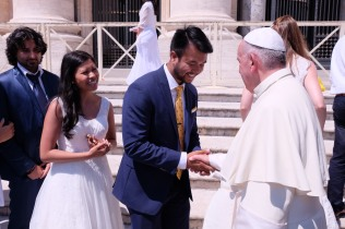 Newlywed Blessing from the Holy Father